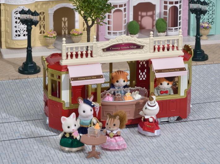 Calico; Creamy Gelato Shop