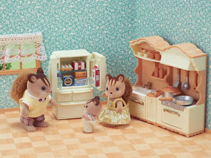 Calico; Kitchen Play Set