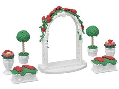 Calico; Floral Garden Set