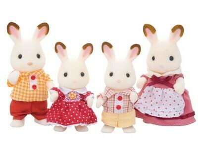 Calico; Hopscotch Rabbit Family