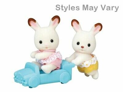 Calico; Hopscotch Rabbit Twins