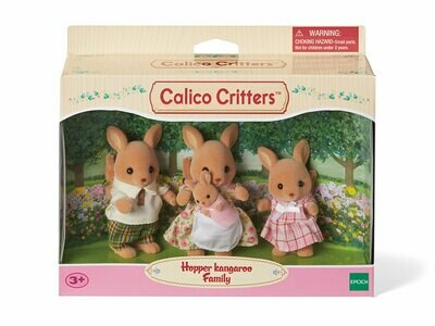 Calico; Hopper Kangaroo Family