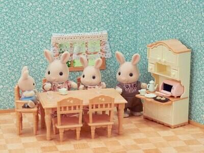 Calico; Dining Room Set