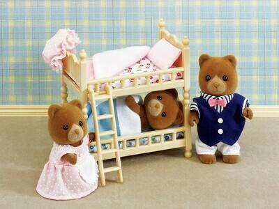 Calico; Bunk Beds Set