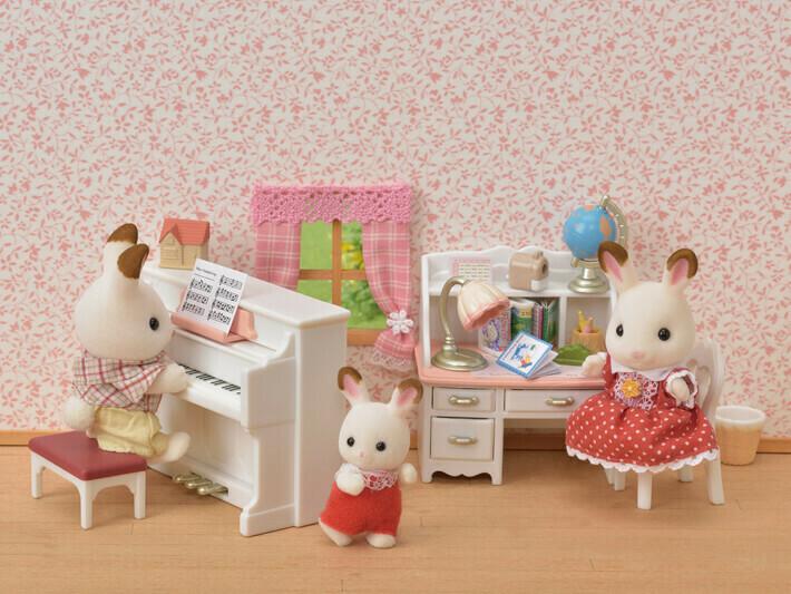 Calico; Piano And Desk Set