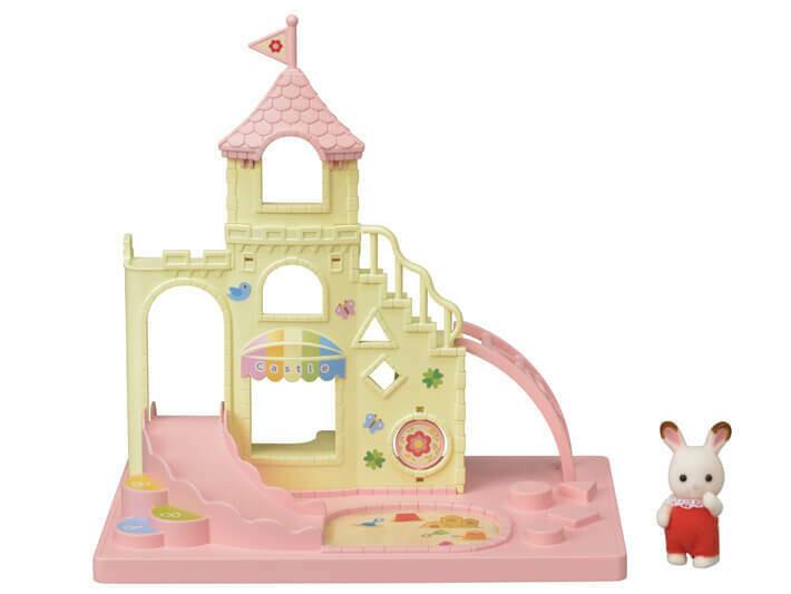 Calico; Baby Castle Playground