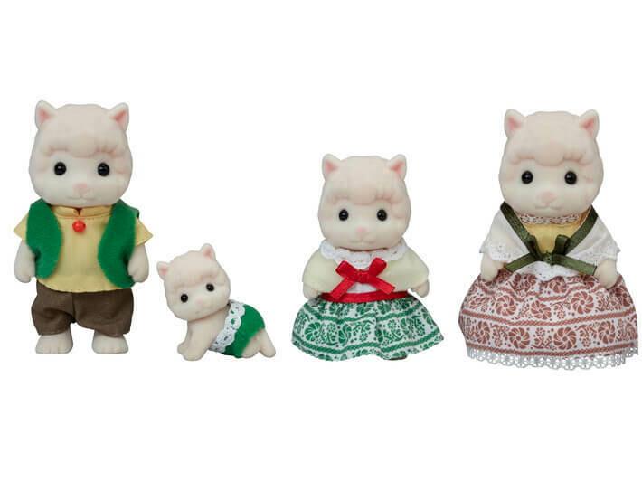Calico; Woolly Alpaca Family