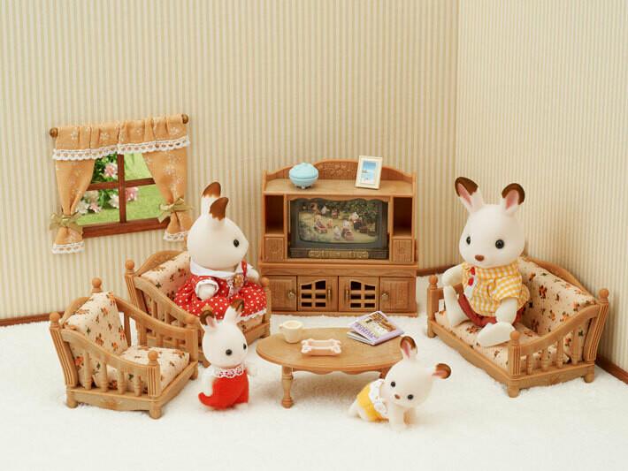 Calico; Comfy Living Room Set