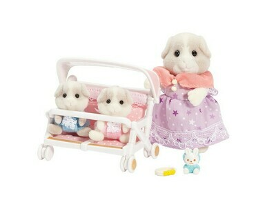 Calico; Patty and Paden's Double Stroller Set