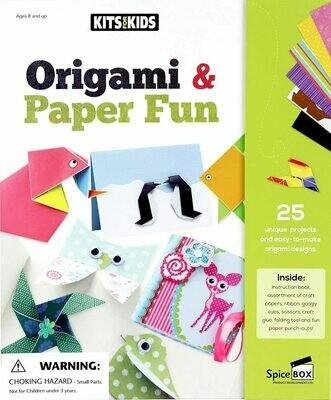 Spice Box; Origami & Paper Fun