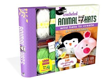 Spice Box; Crochet Animal Hats