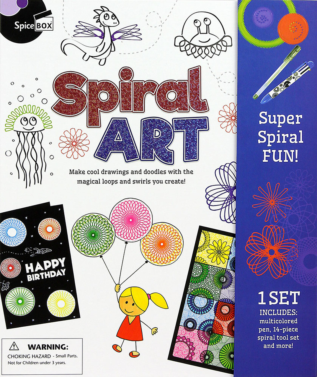 Spice Box; Spiral Art