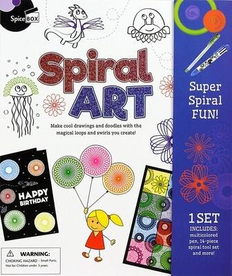 Spice Box; Spiral Art