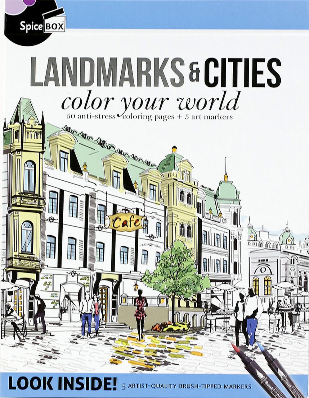Spice Box; Landmarks & Cities
