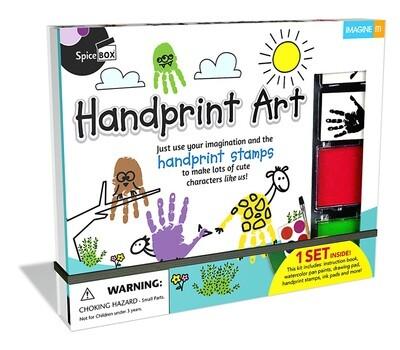Spice Box; Handprint Doodles