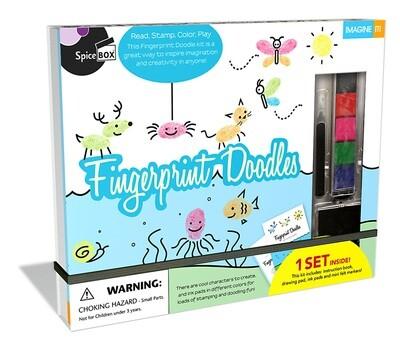 Spice Box; Fingerprint Doodles