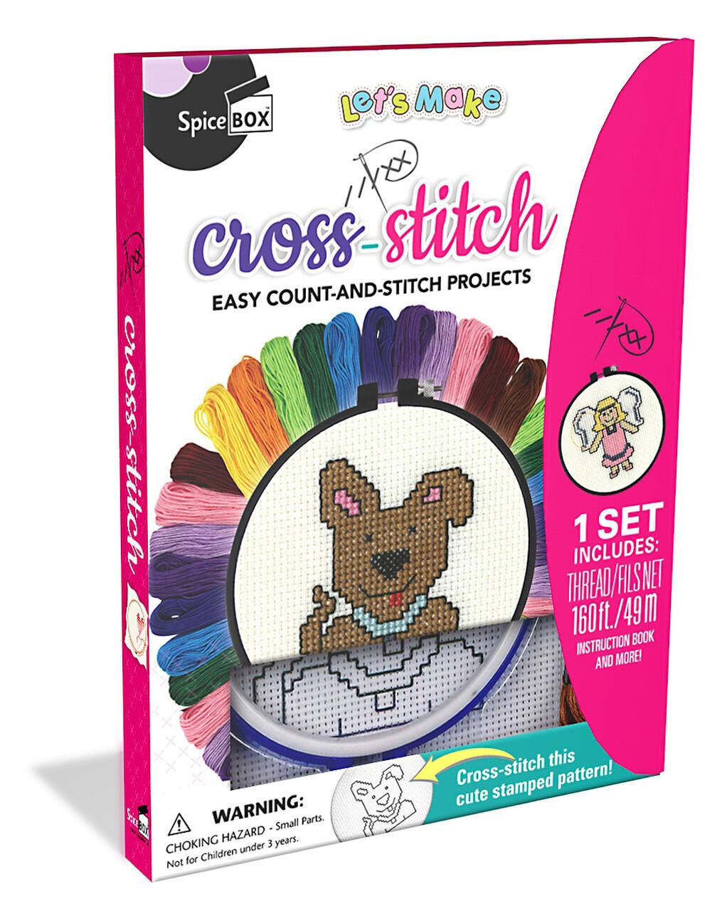 Spice Box; Cross-Stitch