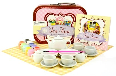 Spice Box; Tea Time Paint & Pretend Kit