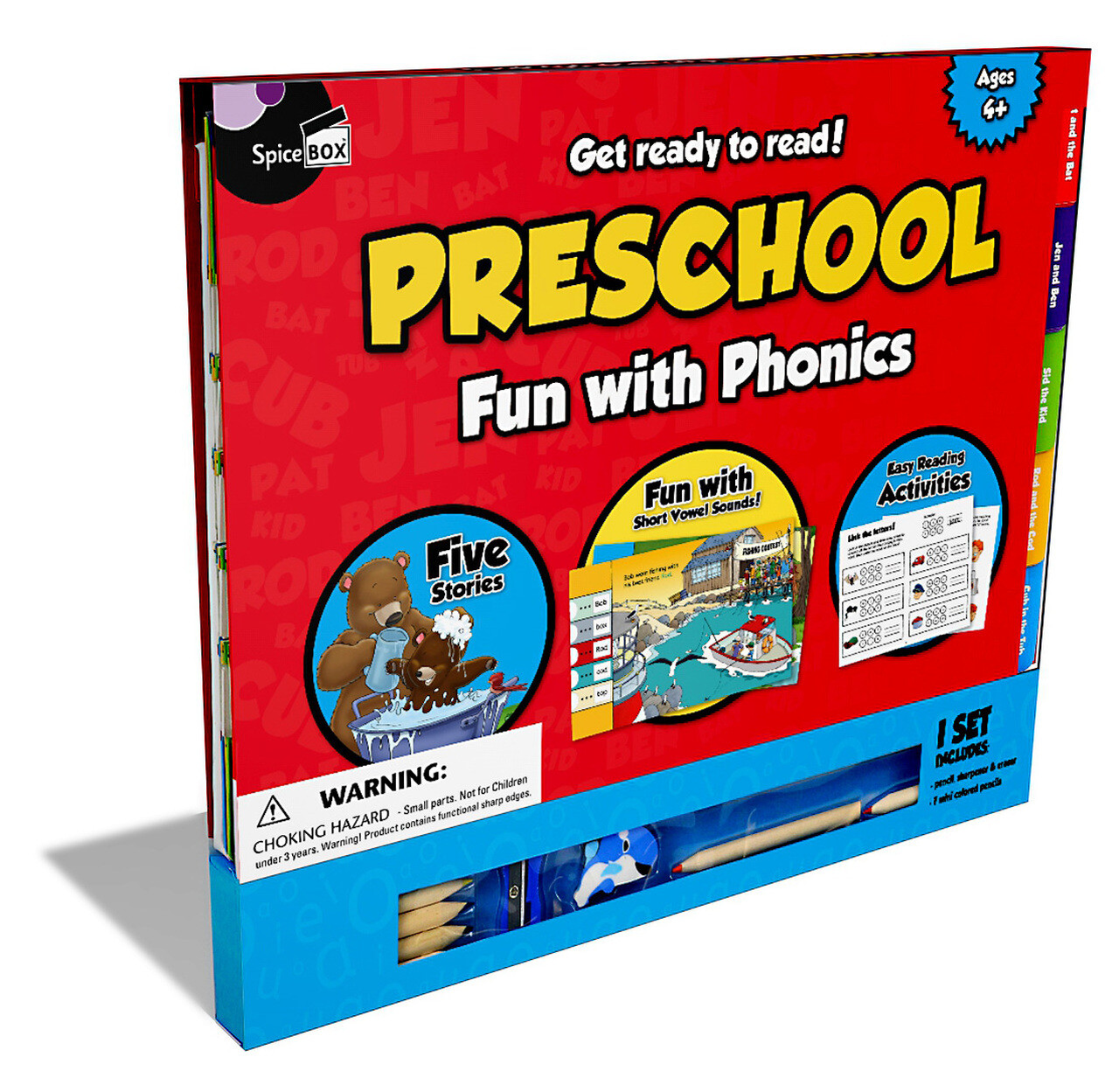 Spice Box; Pre-School Reading Fun with Phonics