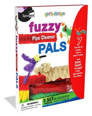 Spice Box; Fuzzy Pals (Pipe Cleaner Pals)