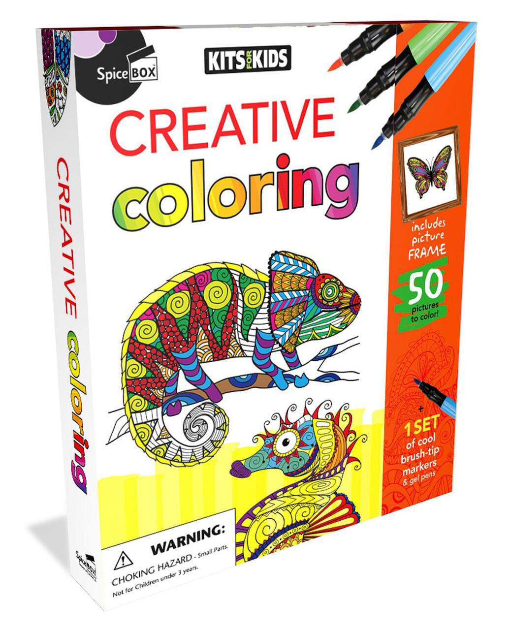 Spice Box; Creative Coloring