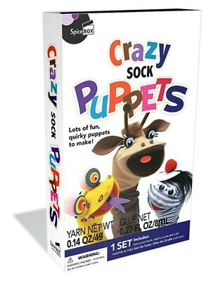 Spice Box; Crazy Sock Puppets