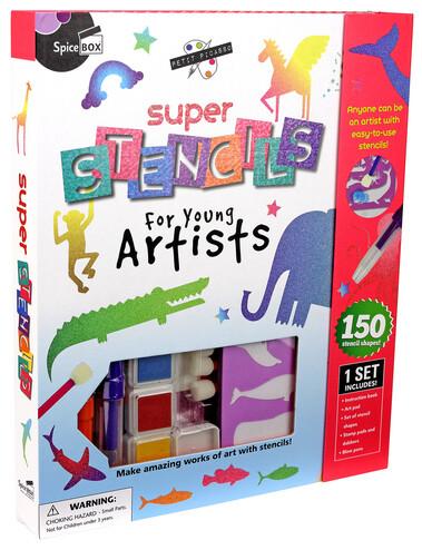 Spice Box; Super Stencils