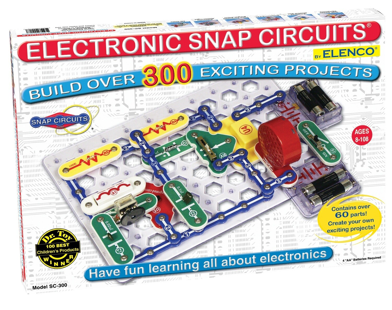 Elenco; Snap Circuit 300  (2L Manual)