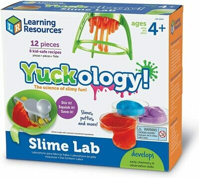 Learning Resources; Yuckology Slime Lab