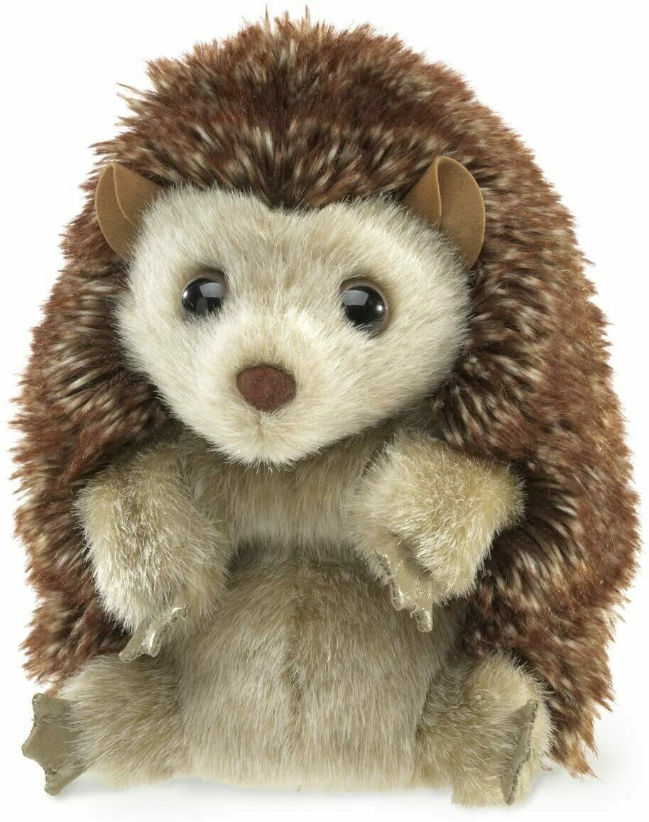 Folkmanis Puppets; Hedgehog Puppet