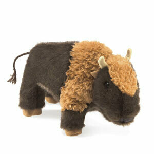 Folkmanis Puppets; Small Bison
