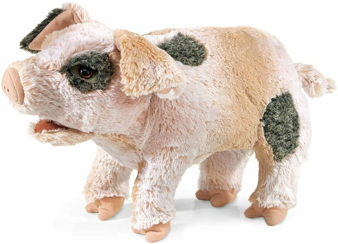 Folkmanis Puppets; Grunting Pig Puppet