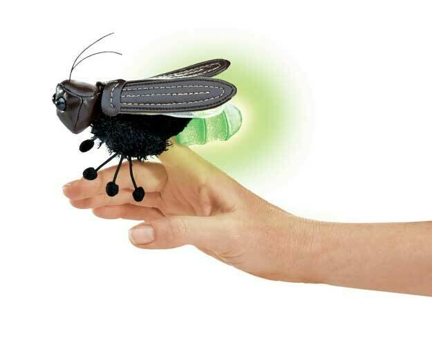 Folkmanis Puppets; Mini Firefly Finger Puppet