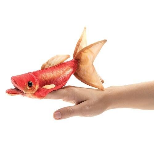 Folkmanis Puppets; Mini Goldfish Puppet