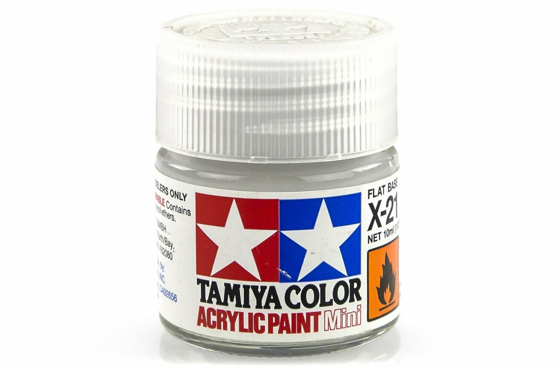 Tamiya; Tam X-21 Gloss-Flat Clearbase