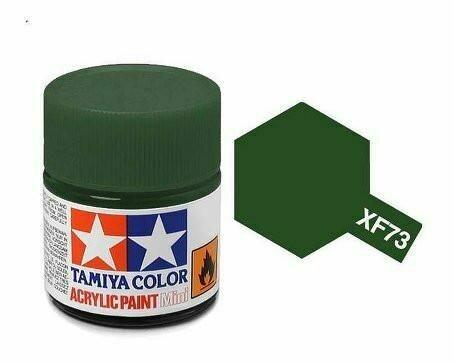 Tamiya; Tam XF-73 Flat-Dark Green(JGSDF)
