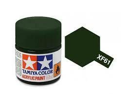 Tamiya; Tam XF-61 Flat-Dark Green