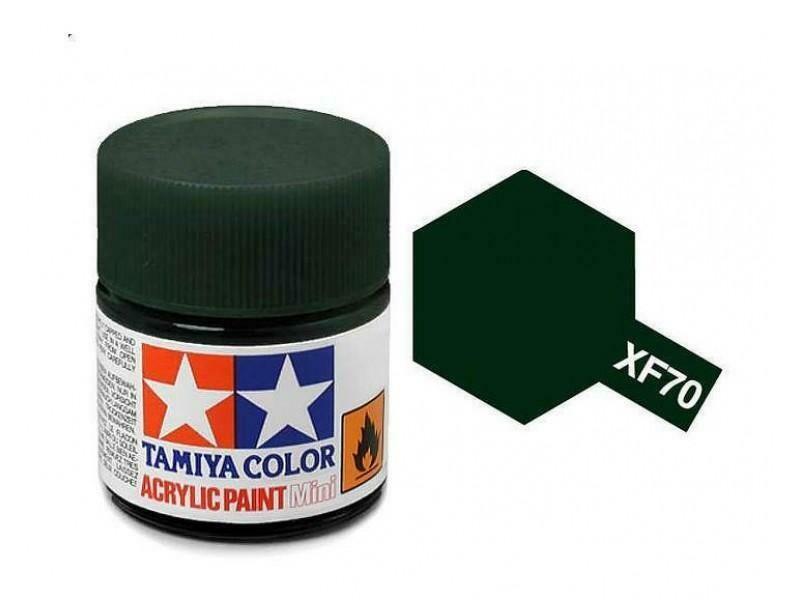 Tamiya; Tam XF-70 Flat-Dark Green 2(IJN)