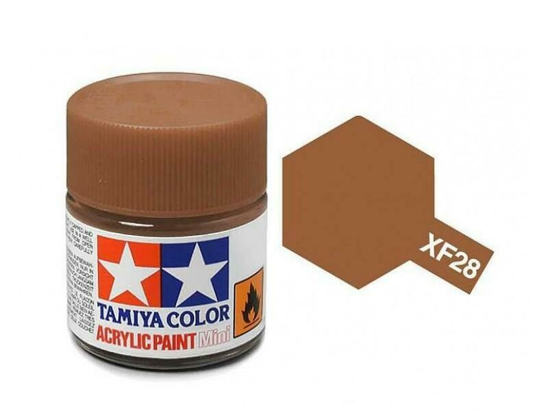 Tamiya; Tam XF-28 Flat-Dark Copper