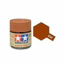 Tamiya; Tam X-34 Metallic Brown