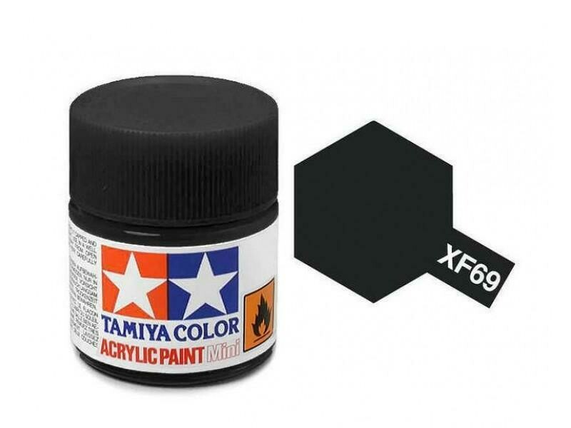 Tamiya; Tam XF-69 Flat-Nato Black