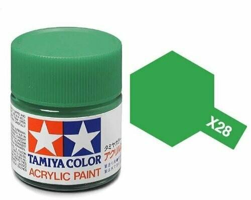 Tamiya; Tam X-28 Gloss-Park Green