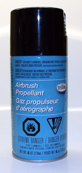 Testors; Airbrushpropellant (6Oz Can)