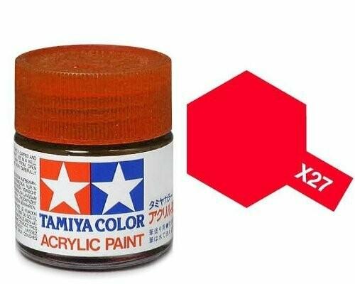 Tamaya; Tam X-27 Gloss-Clear Red