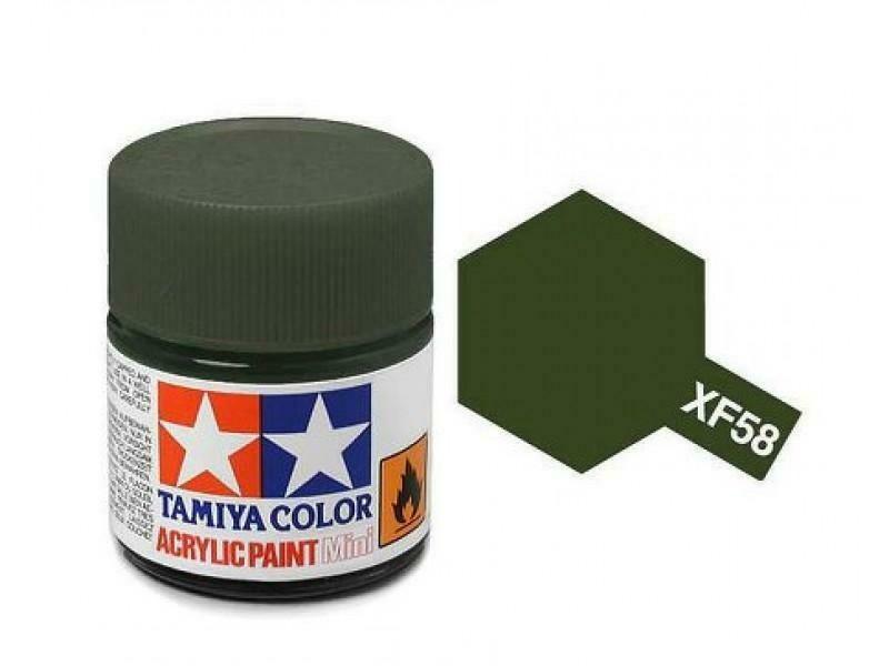 Tamaya; Tam XF-58 Flat-Olive Green