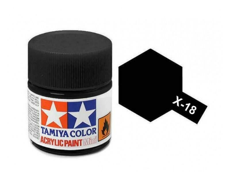 Tamaya; Tam X-18 Semi-Gloss Black