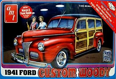 AMT; 1941 Ford Custom Woody
