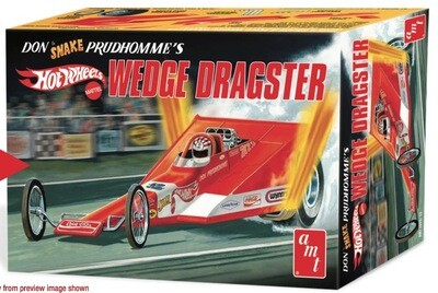 Amt; Coca Cola Don Snake Prudhomme Wedge Dragster Hot Wheels 1/25