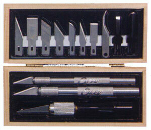 Prof Woodcarving Set