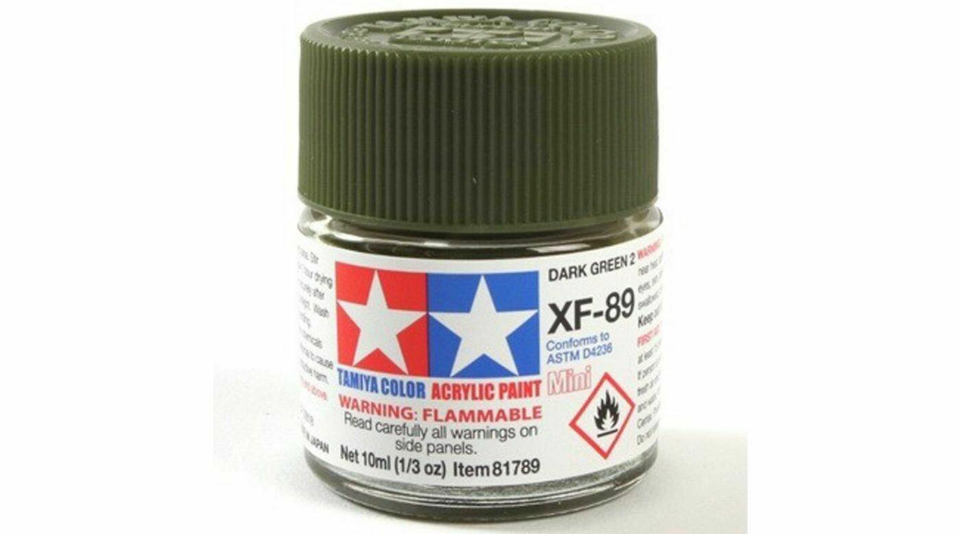 Tamiya; Tam XF-89 Dark Green 2